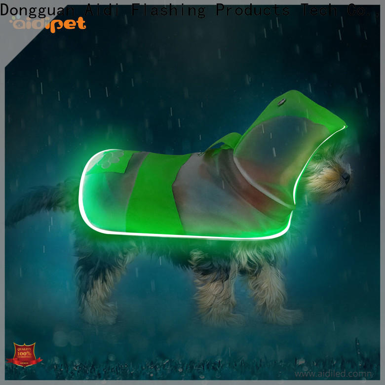 AIDI glowing dog harness manufacturer for pet