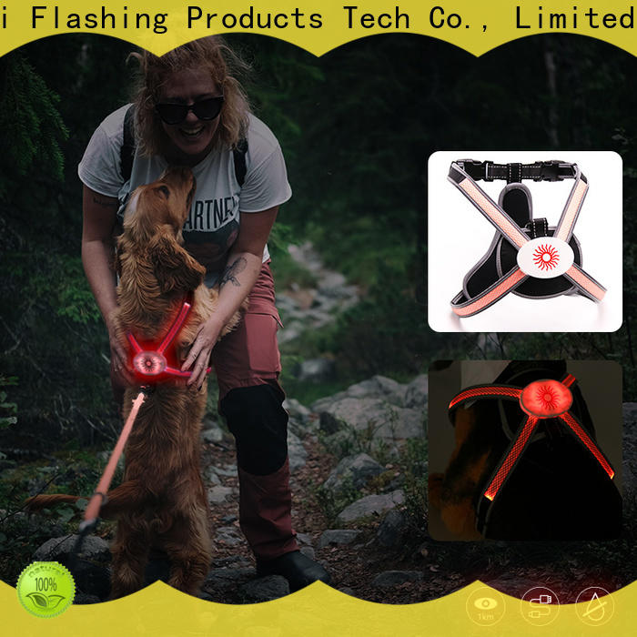 AIDI light up dog harness directly sale for outdoors