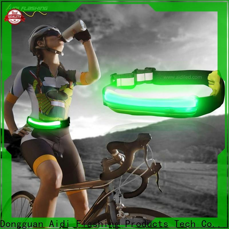 AIDI reflective led waist bag series for outdoors