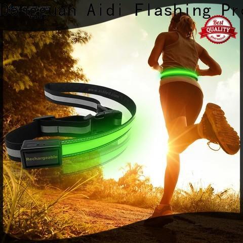AIDI fitness waist belt customized for outdoors