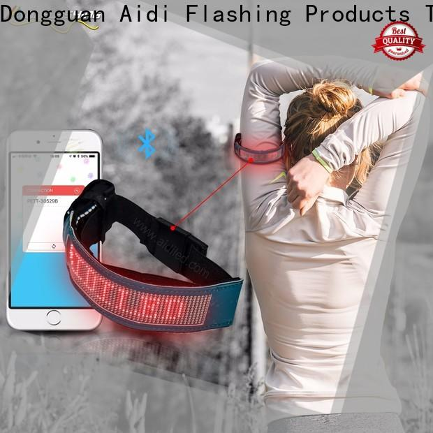 AIDI led arm band manufacturer for sports