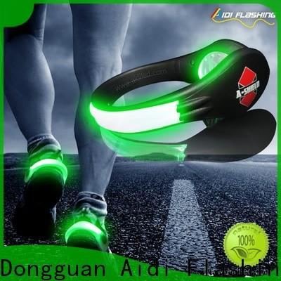 adjustable clip on shoe lights factory for kids
