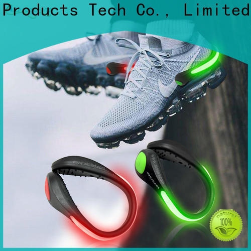 AIDI rechargeable led shoe clip factory for sports
