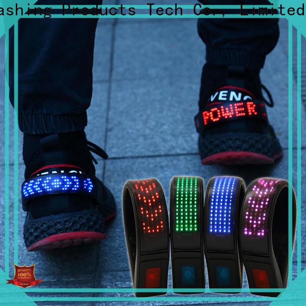 AIDI night runner led shoe clip factory for children