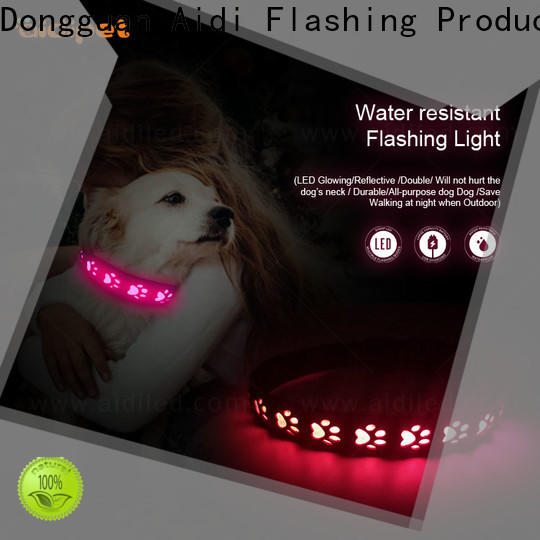 AIDI led light up collar inquire now for park