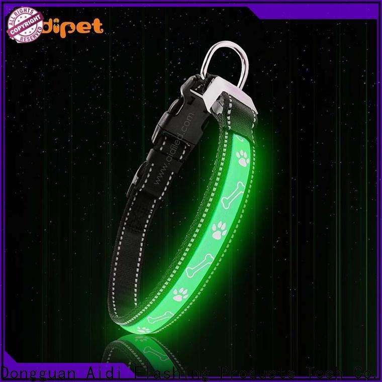 AIDI flashing dog collar light with good price for park