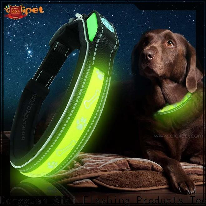 AIDI illuminated dog collar inquire now for park