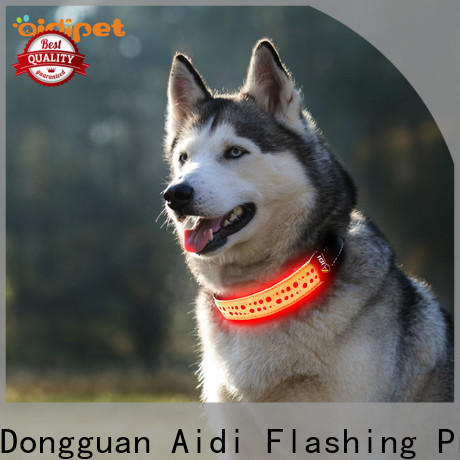 remote light up dog collar rechargeable factory for walking