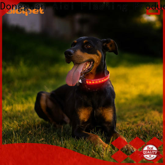 glowing led dog collar waterproof inquire now for outdoors