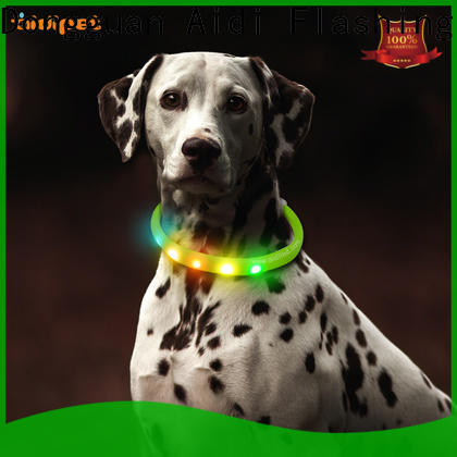 AIDI printing led dog collar waterproof inquire now for outdoors