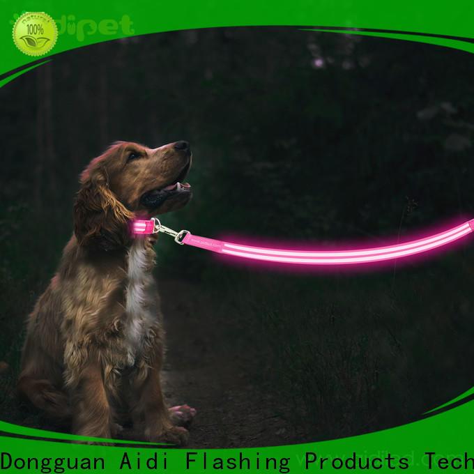 AIDI nylon led dog leash inquire now for walking