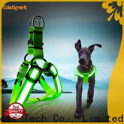 AIDI dog harness with led lights directly sale for park