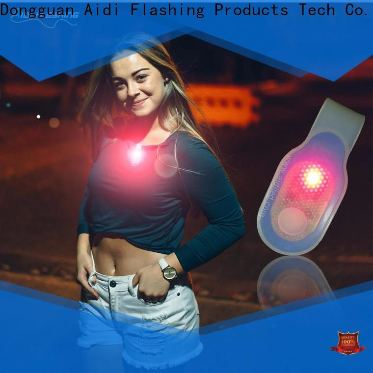 rechargeable night running lights factory price for sports