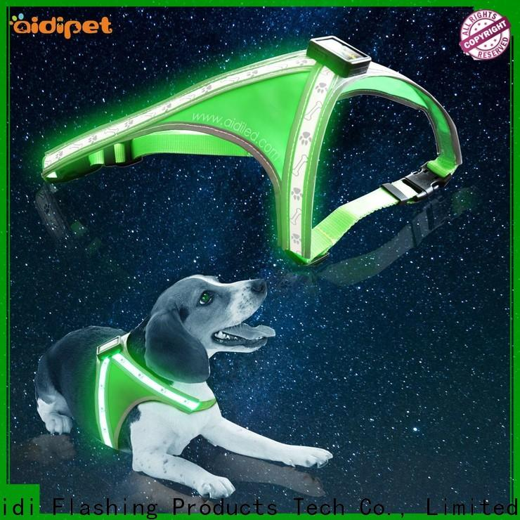 double dog harness with led lights from China for outdoors