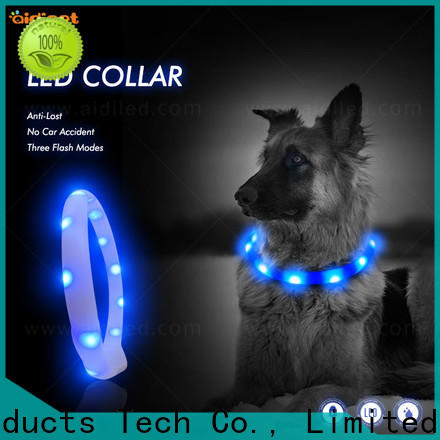 AIDI best light up dog collar factory for outdoors