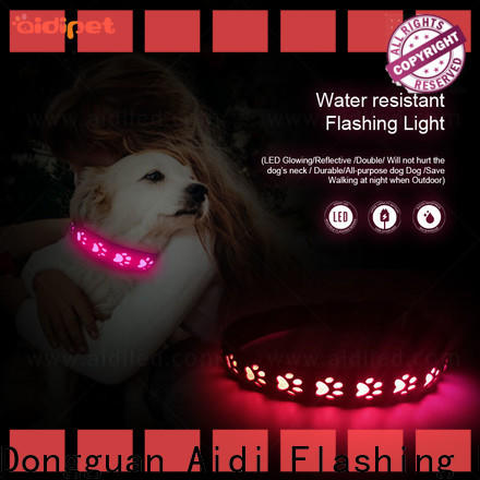 AIDI reflective dog collars with good price for outdoors