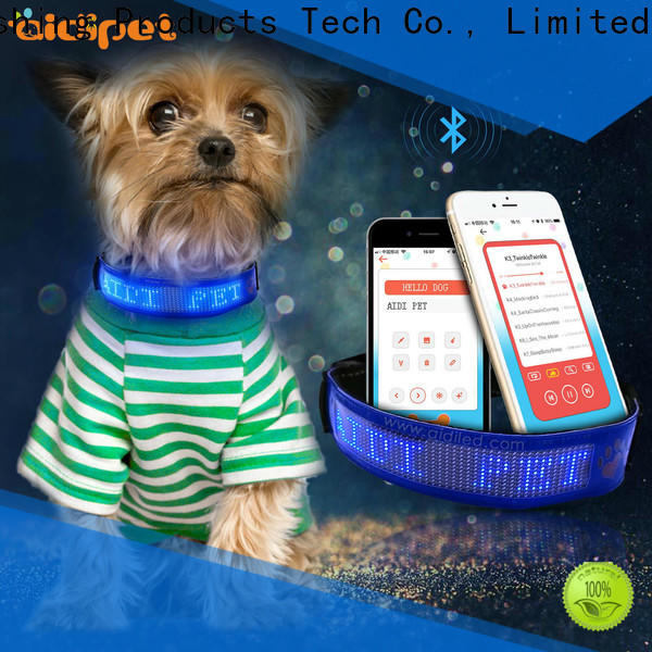filament waterproof light up dog collar inquire now for park