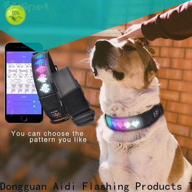 filament rechargeable dog collar light factory for walking