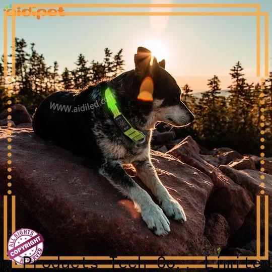 AIDI best led dog collar design for walking