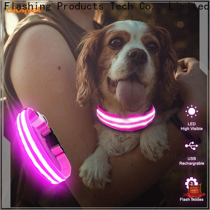 reflective personalized reflective dog collars factory for park