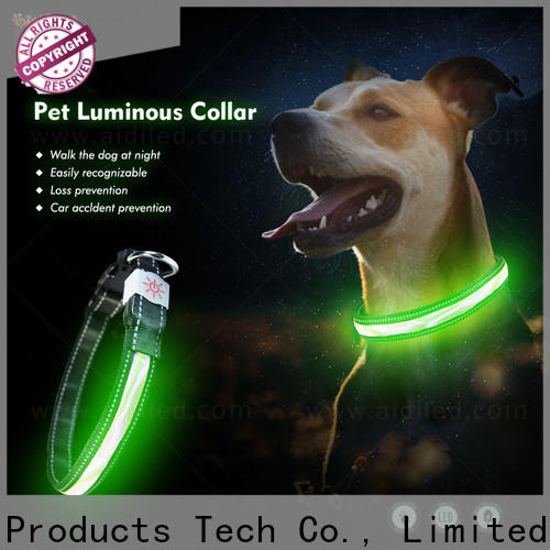 nylon dog collar lights waterproof inquire now for park