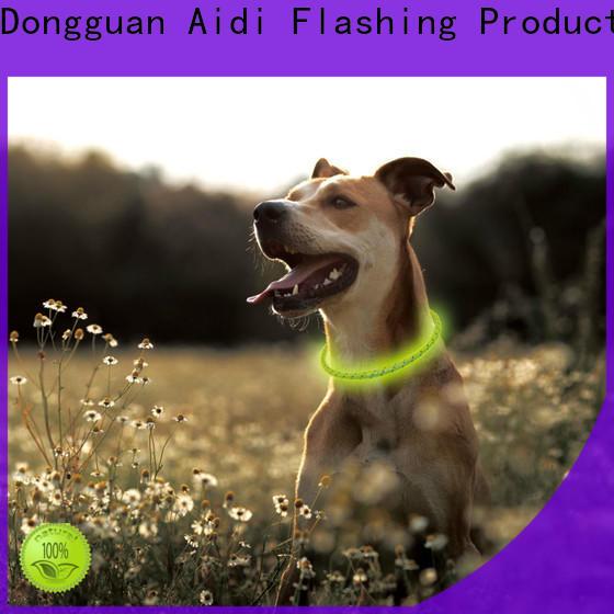 AIDI illuminated dog collar with good price for park