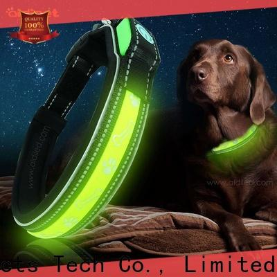 flashing light up dog collar rechargeable inquire now for pet