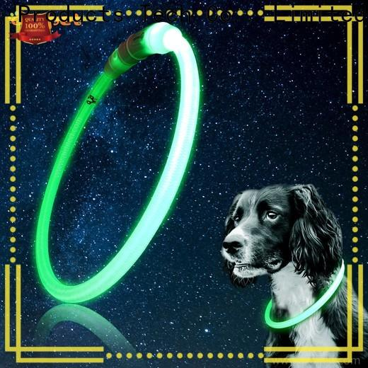 AIDI led light up dog collar factory for pet