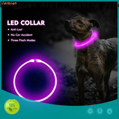 nylon light up collar factory for walking