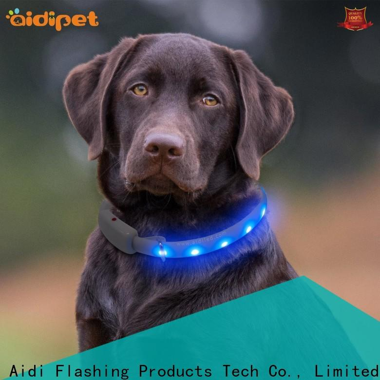 printing led dog collars with good price for walking