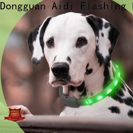 filament led pet collar light design for walking