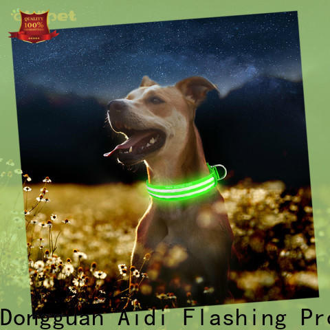 durable lighted dog collars with good price for outdoors