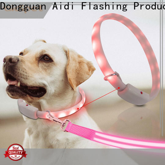 AIDI waterproof waterproof lighted dog collars design for park