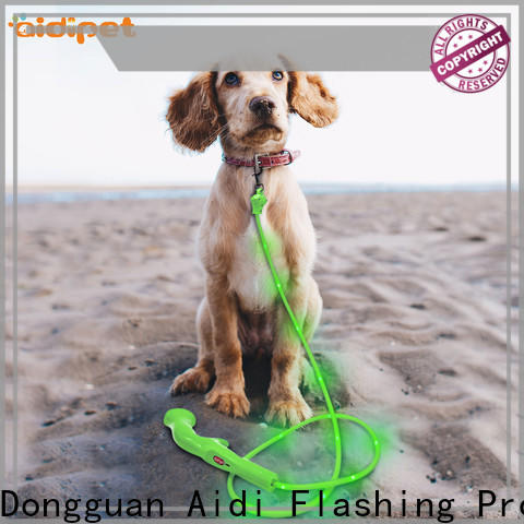 nylon glow in the dark dog leash inquire now for pet