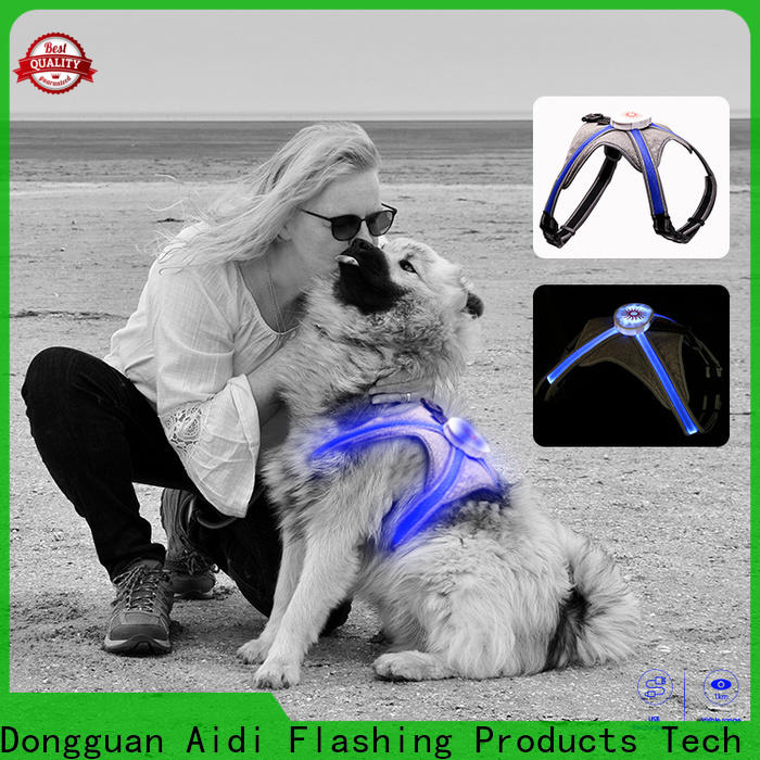 AIDI reflective reflective dog harness directly sale for park