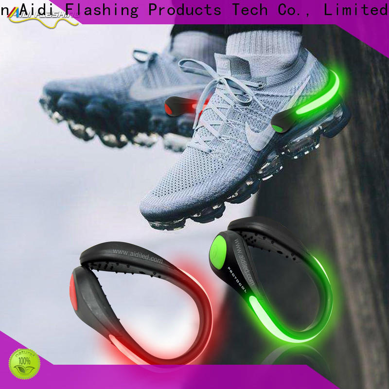 adjustable clip on shoe lights factory for outdoors
