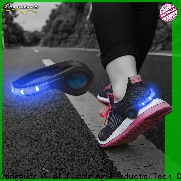 AIDI clip on shoe lights design for children