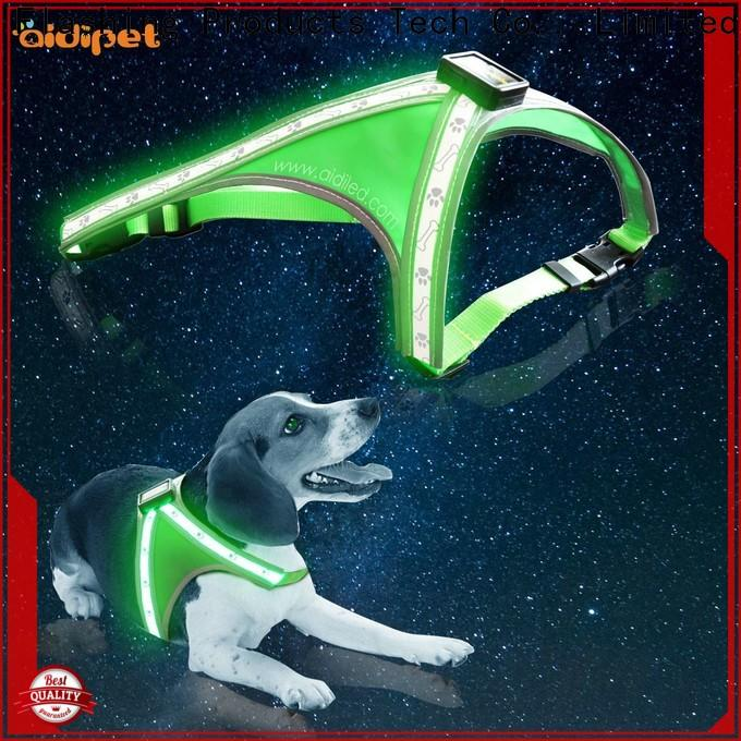 AIDI fishing net glowing dog harness customized for pet