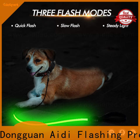 AIDI best led dog leash factory for walking