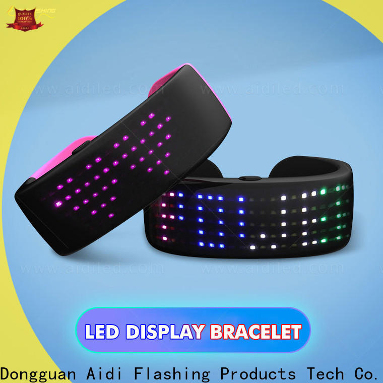 AIDI led slap wrap bracelet with good price for sports