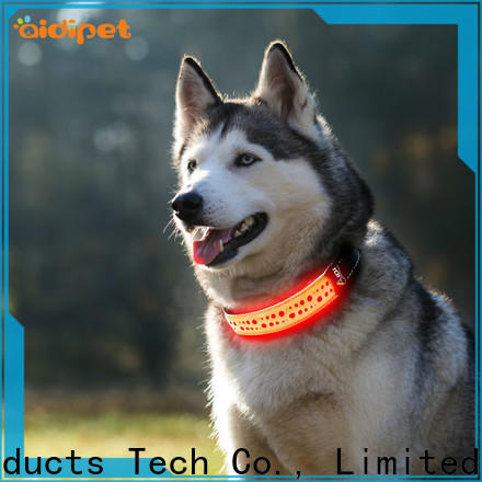 AIDI glowing dog collar factory for pet