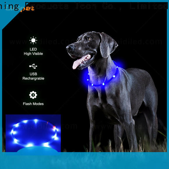 AIDI dog collar lights waterproof inquire now for walking