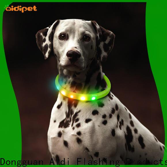 AIDI illuminated dog collar design for pet