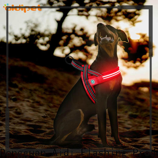 AIDI glowing dog collar manufacturer for park