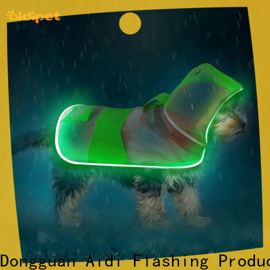 AIDI rechargeable dog harness with led lights from China for park