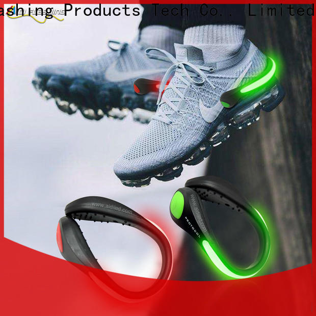 AIDI clip on shoe lights factory for outdoors
