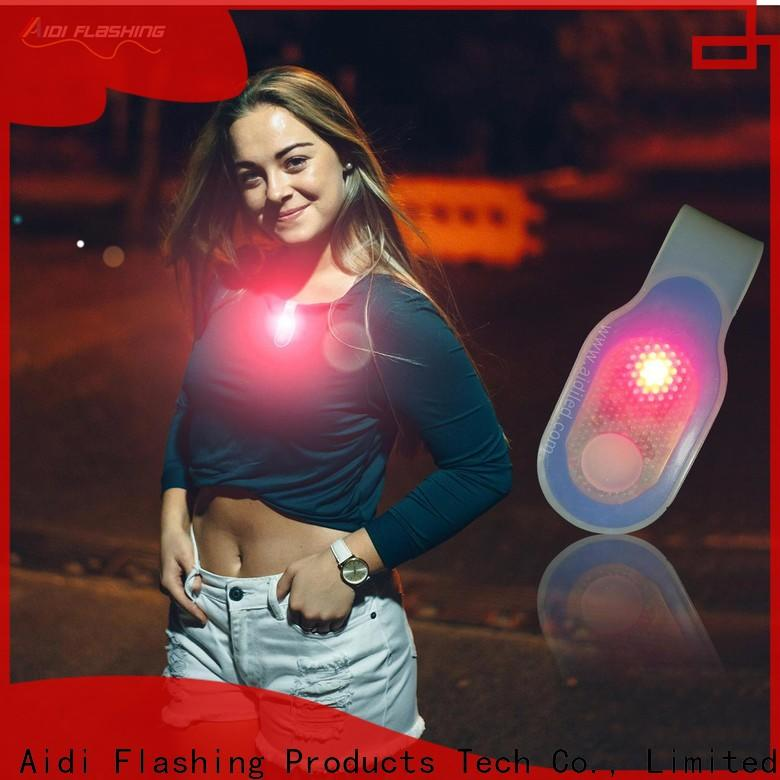 rechargeable night running lights wholesale for woman