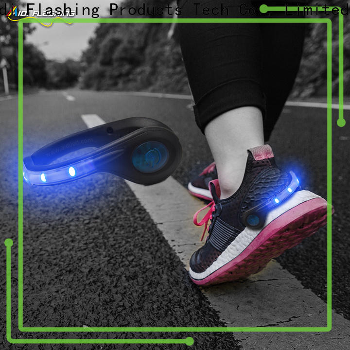 green led shoe clip lights design for kids