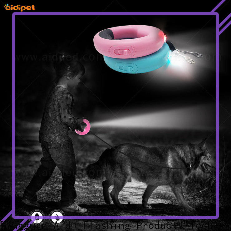 AIDI light up leash inquire now for pet