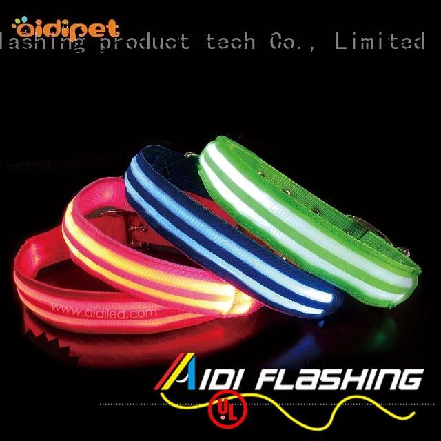 remote filament AIDI Brand led light for dog collar